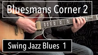 Swing Jazz #1 - Blues Guitar Solo Wes Montgomery Style