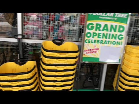 GRAND OPENING Dollar Tree Shop with me