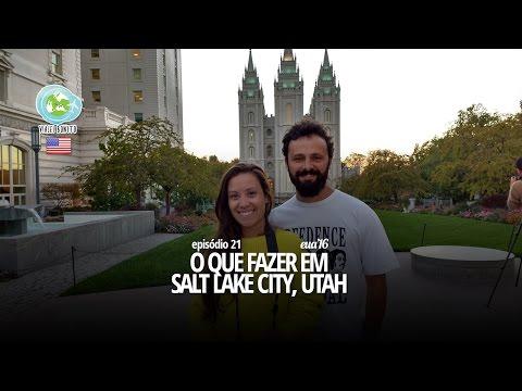 Episódio 21 - O que fazer em Salt Lake City, Utah - Viajei Bonito nos EUA
