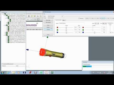 Tetra 4D 3D PDF Animate