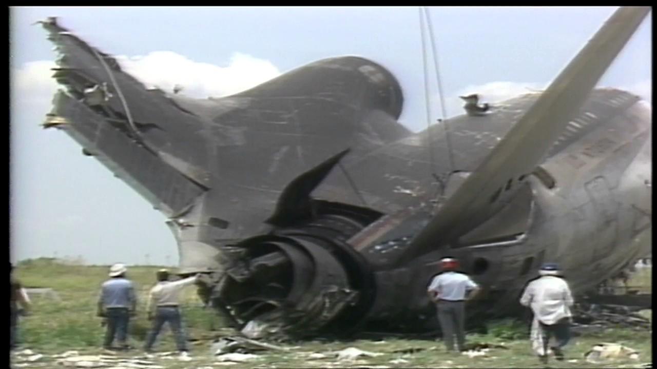 RAW VIDEO | Delta 191 crash at D/FW Airport in 1985