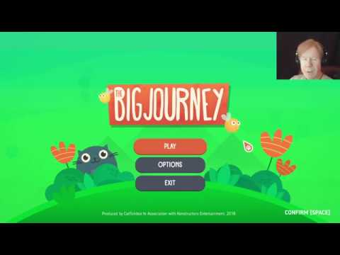 A CAT'S EPIC JOURNEY! | Let's play - The Big Journey