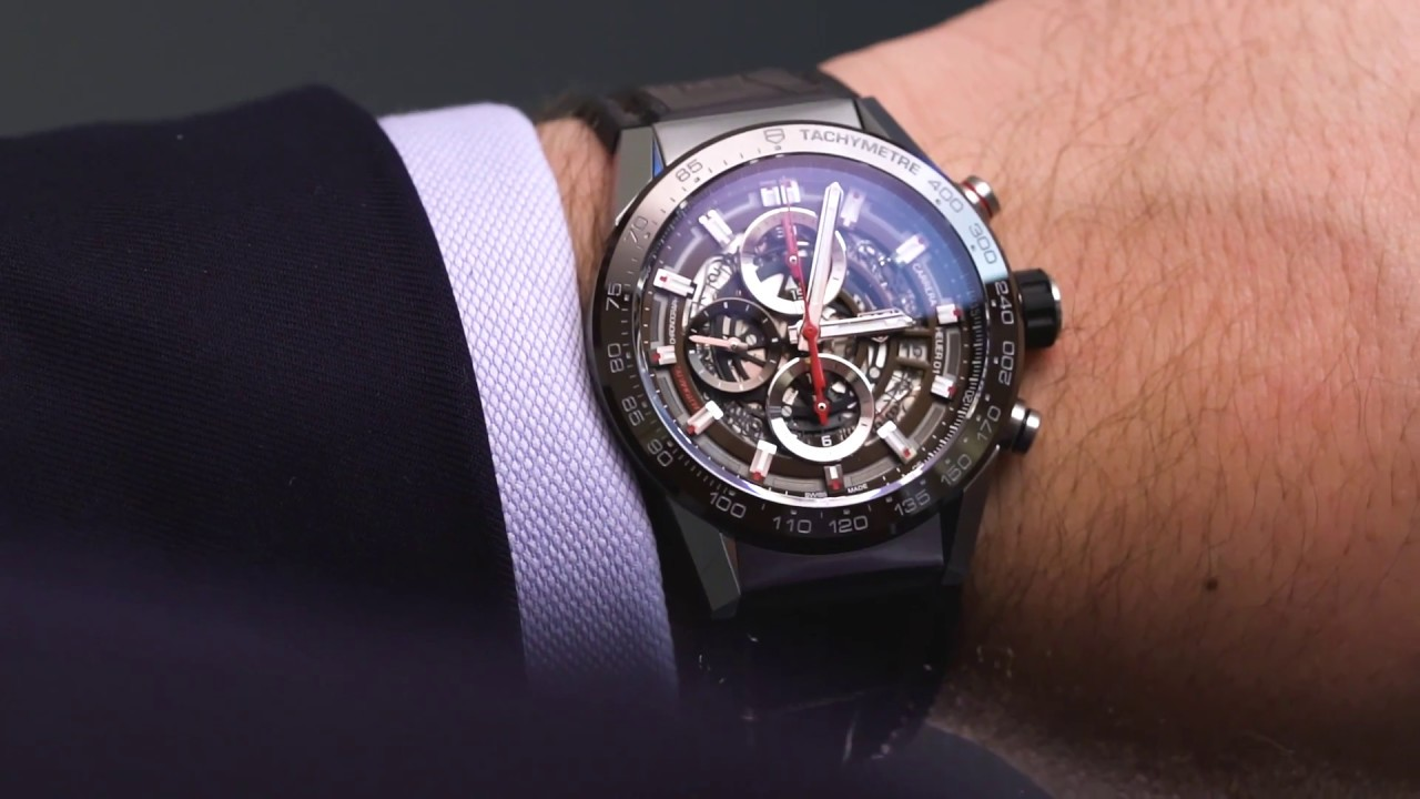 caaf1ff15696 TAG HEUER – Carrera Heuer 01 43mm - YouTube