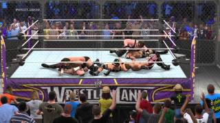 WWE 2K15 attitude era Hell in a Cell
