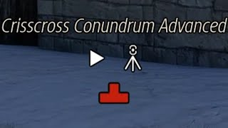 The Talos Principle Walkthrough (TTP) - Crisscross Conundrum Advanced (Part 94)