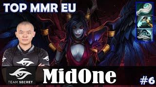 MidOne - Queen of Pain MID | TOP MMR EU | Dota 2 Pro MMR Gameplay #6
