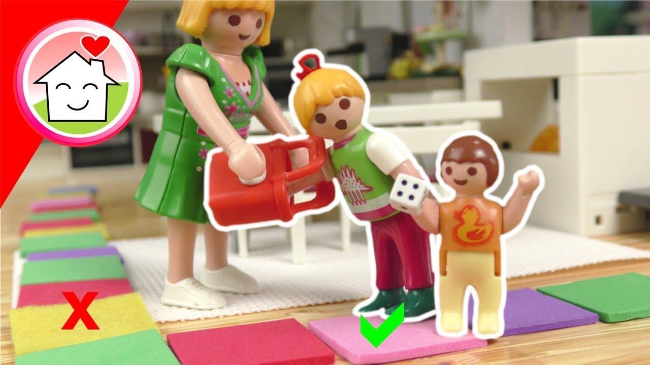 Download Playmobil Film Familie Hauser - Würfel nicht das falsche Feld - Riesen Brettspiel Challenge