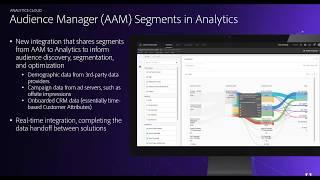Audience Analytics: Integrate AAM Segments into Analytics