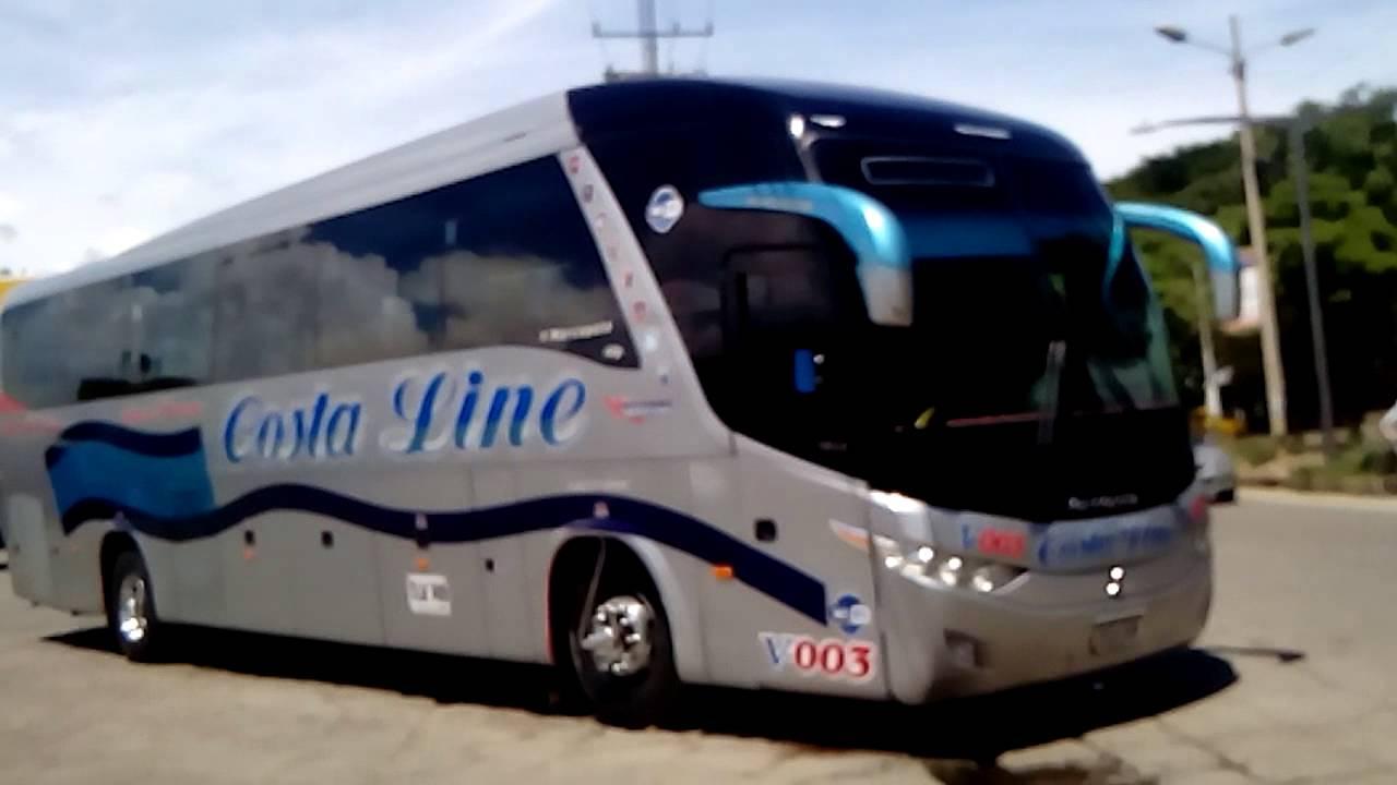 Marcopolo Paradiso G7 1200 (a servicio de Cootracegua) Buses Colombianos - YouTube