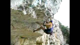 young Chris Sharma sends Biotop ( onsight )