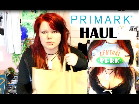 PRIMARK HAUL - Gothic Dresses, Underwear, Shirts, Shorts, PJs