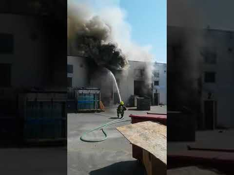 Surrey warehouse fire