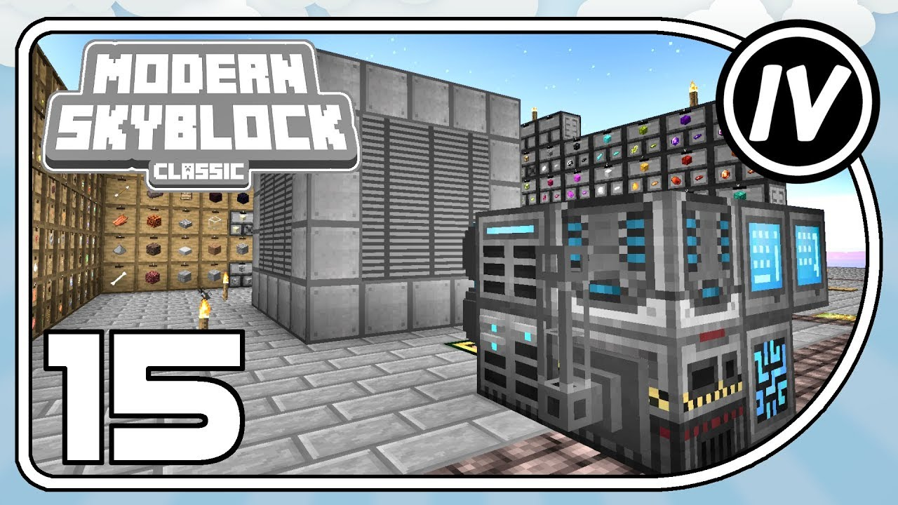 Modern Skyblock: Classic - Ep 15 - Refined Everything