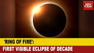 Solar Eclipse 2020: India Will Witness Decade's First Solar Eclipse 'Ring Of Fire'