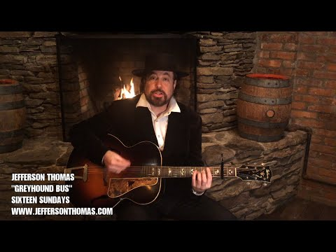 "Jefferson Thomas - ""Greyhound Bus"" (Official Music Video)"