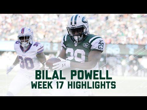 Bilal Powell Racks Up 137 Yards & 1 TD   NFL Week 17 Player Highlights