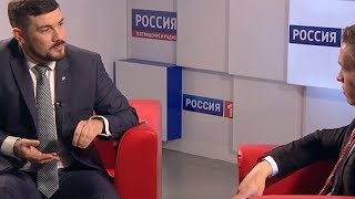 Вести. Интервью: победитель конкурса «Лидеры России» Максим Дузь