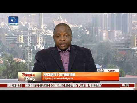 Sunrise Daily Examines Nigeria's Security Situation With Sadeeq Shehu Pt 1