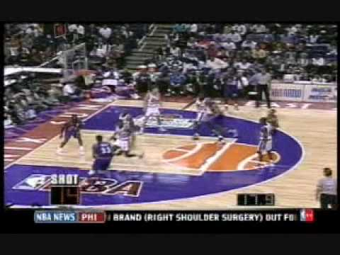 Dana Barros in the 1995 NBA All-Star Game