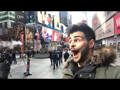 Visite de Times Square 😃