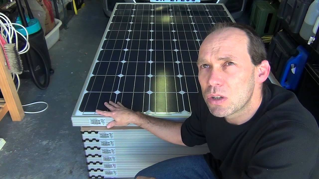 T4d 18 Solar Panels Solar Pool Pump And Arduino Youtube