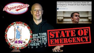 Virginia Governor Declares State Of Emergency & Bans All Guns At The State House
