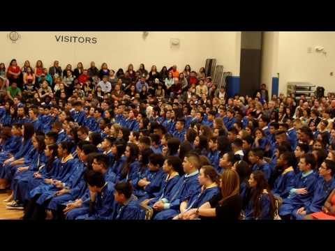 GRADUATION ROUND LAKE MIDDLE SCHOOL 5/17/2016 PART 3