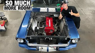 homepage tile video photo for Swapping a RB26 into a 1965 Mustang! Tokyo Drift Mustang!