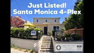 Christophe Choo - Santa Monica 4-plex at 618 Pacific Street, Santa Monica, CA 90405 4 units