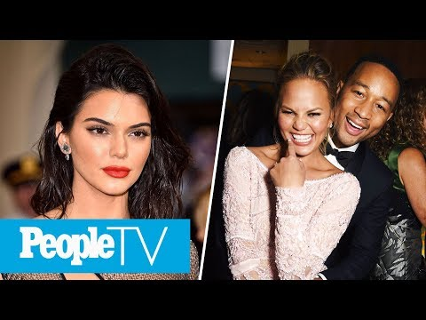 Kendall Jenner Becomes Highest-Paid Model In 2017, Chrissy Teigen Announces Pregnancy | PeopleTV