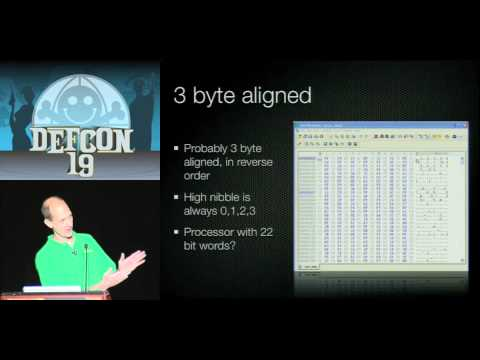 DEF CON 19 - Charlie Miller - Battery Firmware Hacking