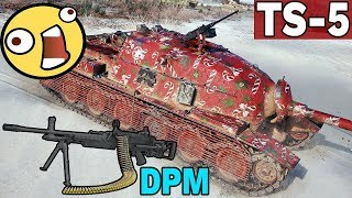 POTĘGA USZKODZEŃ - TS-5 - World of Tanks