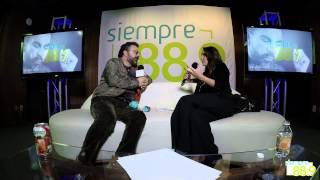 Mijares en entrevista con Sofía Sánchez para Siempre 88 9 parte 5