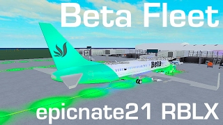 ROBLOX | Beta Fleet Boeing 737-800 Flight