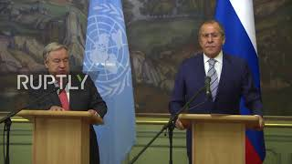 Russia: Lavrov hopes US UN Human Rights Council withdrawal 'not final'