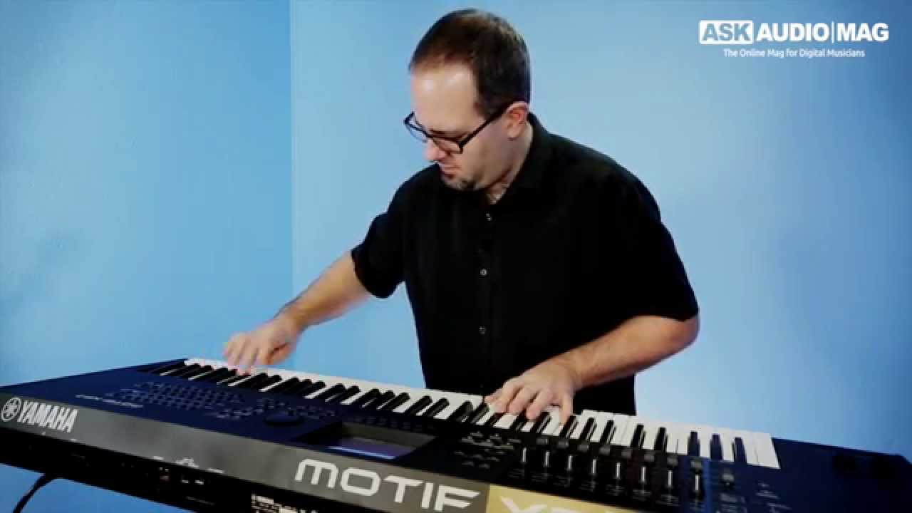 How to Use the Yamaha Motif XF Synth Workstation (5 video