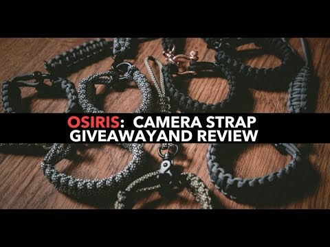 Osiris & CO: Camera Strap Giveaway & Review!