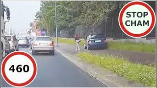 Stop Cham #460 - Niebezpieczne i chamskie sytuacje na drogach
