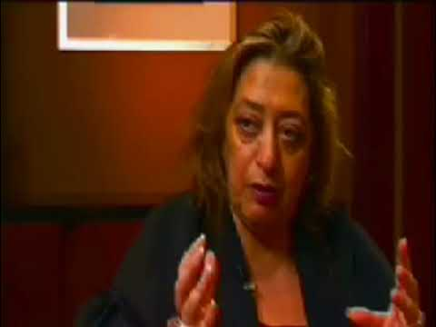 Zaha Hadid Interview in South Florida Part 1