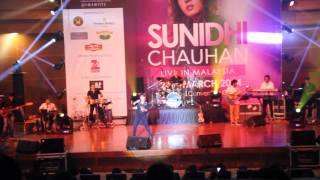 Sunidhi Chauhan Live in KL March 2014 - Dhoom Machale
