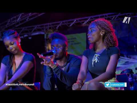 SAUTI SOL live in BURUNDI (part 3)