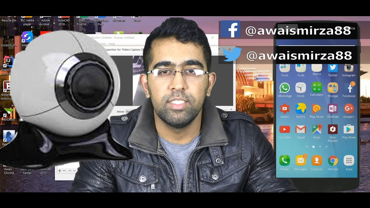Free webcam mobile