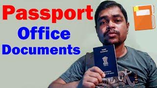Passport Office Me Kya Document Chahiye