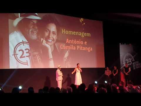 23° Mostra Tiradentes: Homenagem a Antonio e Camila Pitanga