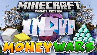 InPvP MONEY WARS SERVER! Minecraft PE: Egg Wars, Build Battle & Blockhunt!