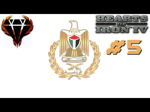 Hearts of Iron 4 - Modern Day Mod 2017 - Hamas Palestine - Time has come! Israel attack! #5
