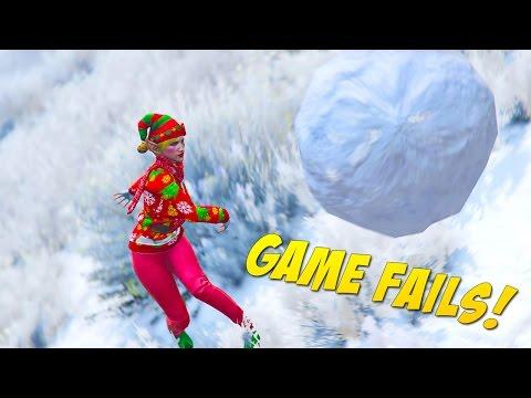 Snowball Destroys Friendship (Game Fails #117)