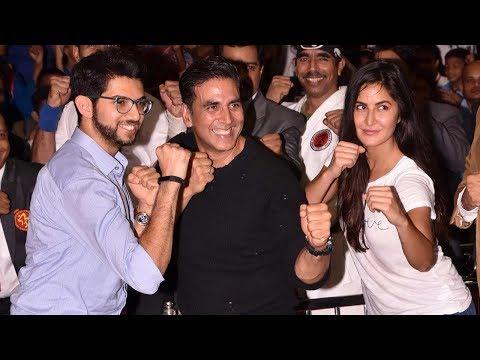 Akshay Kumar, Katrina Kaif & Aditya Thackeray At World's Biggest Kudo Tournament