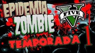 GTA 5 Online - LA PELÍCULA - Epidemia Zombie - NexxuzHD