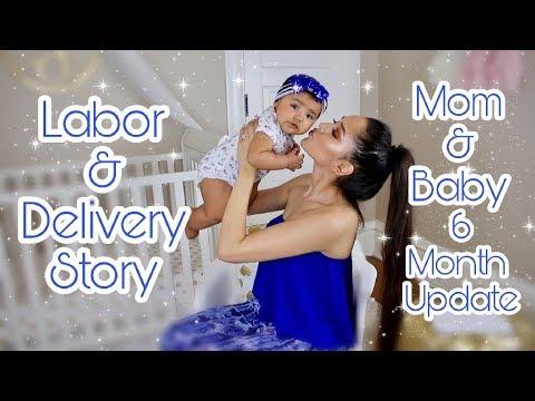 Mom Series: 6 Month Postpartum & Baby Update | Birth Story, PP Depression, Fitness & Breastfeeding thumbnail